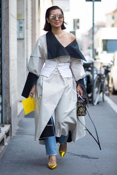 Our favorite street style looks from Friday, Saturday and Sunday.