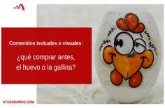 ¿Qué fue antes, el huevo o la gallina? Se trata de un dilema muy antiguo. Pero en un contexto nuevo, el de #marketingdecontenidos, ese mismo dilema se puede expresar de otra forma. #inboundmarketing #redacciondigital #redactoradigital #blogstoryfriendly