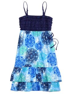 Justice Clothes for Girls Outlet | Girls Clothing | Dresses | Tiered Ruffle Dress | Shop ... | justice