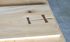 Custom-sized butterfly joints are great for hiding or repairing defects on a woodworking project. Seth Keller teaches you how to make them with a band saw, palm router, and sharp chisel.