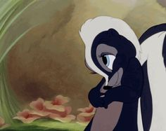 You Can Call Him Flower If You Want To (An Ode to Our Favorite Skunk) .....We know you have possibly THE cutest wave in animation history. #toocute