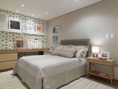 6 ideias para decoração de quarto de casal para te inspirar. Blog Achados de Decoração