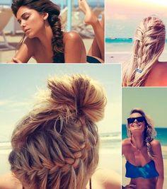 beach hair style!