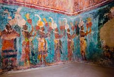 Bonampak Murals, Chiapas, Mexico