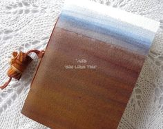 Journal pocket book or notebook with lined pages by shelikesthis, £7.00