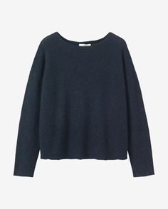Women's Washed Alpaca Merino Pullover