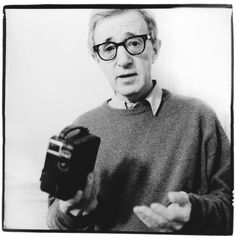 Woody Allen (born Allan Stewart Koningsberg, 1935) - American actor, director, screenwriter, comedian, musician and playwright. Photo by Renaud Monfourny