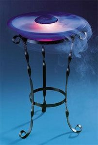 Iron Mist Deluxe Fountain: 2 Stands Included! Floor or Tabletop Fountain with Iron Base.