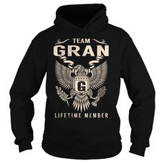 Team GRAN Lifetime Member - Last Name, Surname T-Shirt