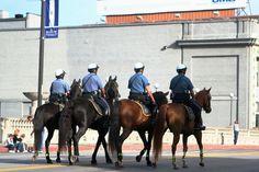 Kansas City Missouri Police Department- Mounted Patrol- at American Royal Parade