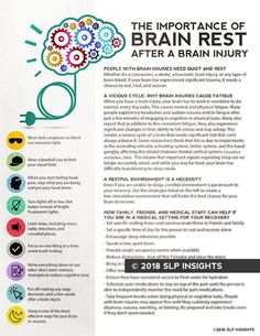 The importance of brain rest after a brain injury - SLP Insights - Therapy Fix