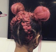 Tips And Tricks For Beautiful Hair With Minimum Fuss. While nearly everyone appreciates the look and feel of healthy hair, not everyone understands the best way to obtain it. Big Chop, Love Hair, Gorgeous Hair, Curly Hair Styles, Natural Hair Styles, Colored Natural Hair, Hair Colorful, Rides Front, Hair Laid