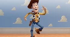 Woody is actually not too hard of a costume- especially for a guy. Blue jeans, boots, a hat, a red scarf, a sheriff's badge- are all things ...