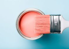 How To Easily Paint Your RV Interior Walls - Exploring New Sights Interior Paint Colors For Living Room, Living Room Colors, Paint Stirrers, Live Coral, Beige Walls, Pantone, Color Of The Year, Interior Walls, Pallets