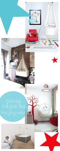 Camas y cunas colgantes (y alguna idea sorprendente) · Hanging beds and cribs (and some amazing ideas)