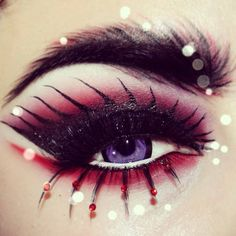 Eye art, ou le maquillage des yeux version aertistique