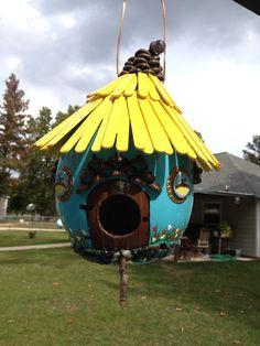 Gourd Fairy Birdhouse