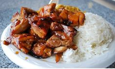 Ingredientes: 2 pechugas de pollo cortada en trozos 1 ½ cucharada de aceite de oliva 1 diente de ajo ¼ cucharadita de jengibre ¾ cucharadita de pimienta roja ¼ taza de jugo de manzana 1/3 taza de a...