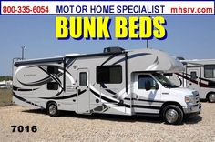 New Thor Motor Coach Chateau for sale in Alvarado TX | 2014 Thor Motor Coach Chateau 31A Bunk House RV W/ Jacks, 2K VISA, 3 Cam, 5 TV Class C For Sale from Motor Home Specialist in Alvarado Texas