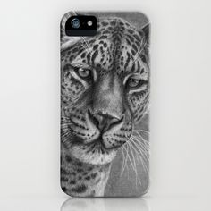 Panthera G2013-067 iPhone Case by S-Schukina - $35.00