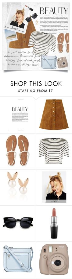 """Just because✌"" by abbypskate ❤ liked on Polyvore featuring Nümph, Aéropostale, Alexander Wang, Polaroid, Aamaya by priyanka, ASOS, ZeroUV, MAC Cosmetics and Liz Claiborne"