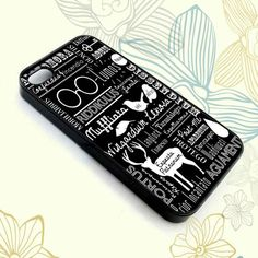 Harry Potter Spells, Retro Collage - Phone case for iPhone 4/5/5s/5c/6,Samsung Galaxy S3/S4/S5,ipod touch 4/5, Series.