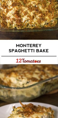 Switch out speghetti noodles for zoodles, Monterey Chicken Spaghetti Bake Casserole Dishes, Casserole Recipes, Meat Recipes, Pasta Recipes, Chicken Recipes, Cooking Recipes, Cooking Tips, Dinner Recipes, Gastronomia
