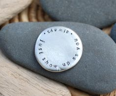 show up as you . soul mantra pocket talisman
