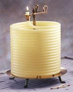 Amazing Candle Burning time 144 hours!