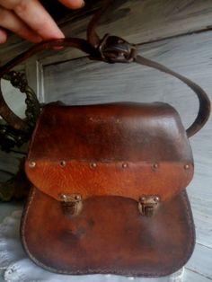 Sacoche de pétanque vintageétui cuir pour par FrenchTouchSoChic