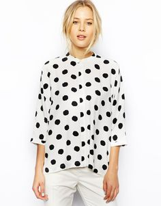 dotty blouse