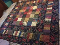 Floral Charm Quilt Throw