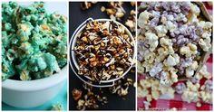 12 Popcorn-reseptiä, joita on pakko päästä kokeilemaan! No Bake Desserts, Delicious Desserts, Dessert Recipes, Yummy Food, Cake Batter Popcorn, Sweet Popcorn, Butter Popcorn, Popcorn Recipes, Dessert Decoration