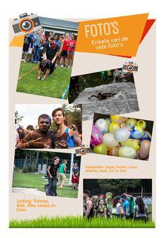 Fotoreportage jeugdbeweging - leuk idee om te geven aan de leden en leiding op het einde van het jaar