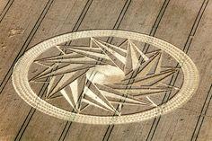 Kornkreise in Deutschland 2012.  Ort / Location: Andechs, Bayern (n. Kloster Andechs - Andechs Abbey)  Entdeckt / Discovered: 29. Juli 2012  Getreide / Crop: Weizen (Wheat)?  Koordinaten / Map-Coordinates: xxx.