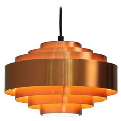 Hammerborg copper pendant | From a unique collection of antique and modern chandeliers and pendants  at http://www.1stdibs.com/furniture/lighting/chandeliers-pendant-lights/