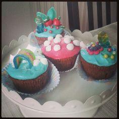 The smurfs cupcakes