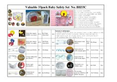 How to Success in Promotion Season -- Valuable Set of Baby Safety. DIY child proof in a moment. http://www.probaby-china.com