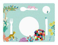 Elmar Elefant Tischset von Petit Jour Paris - auch prima als Malunterlage!