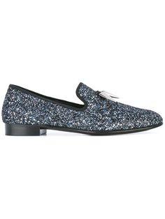 Shop Giuseppe Zanotti Design 'Spacey' slippers.