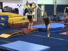 Compulsory Gymnastics Vault drills