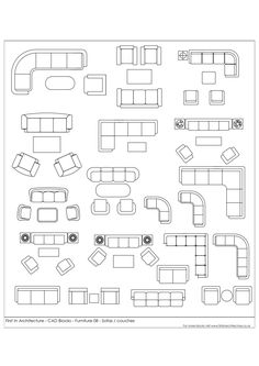 Architektur Free CAD Blocks Furniture 08 Sofas & Couches The post Free CAD Blocks Furniture 08 Sofas & Couches appeared first on Architektur. Colonial Furniture, Furniture Plans, Furniture Design, Bedroom Furniture, Urban Furniture, Street Furniture, Lounge Furniture, Funky Furniture, Furniture Storage