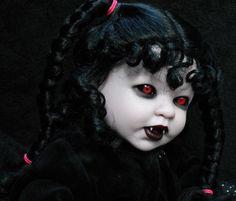 Vampire demon doll