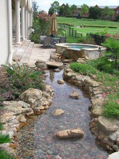 In this post, we have highlighted rain garden designs for inspiration. And with the help of these great rain garden design ideas, You could create a stunning and fascinating space. Rain Garden Design, Pond Design, Backyard Garden Design, Ponds Backyard, Garden Landscape Design, Backyard Patio, Backyard Landscaping, Landscaping Ideas, Backyard Ideas