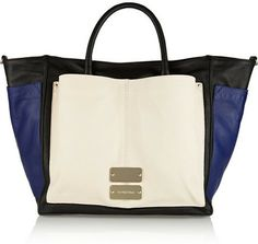 See by Chloe Nellie color-block leather tote on shopstyle.com