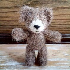 Check out this item in my Etsy shop https://www.etsy.com/listing/574971905/newborn-photo-prop-toy-teddy-bear