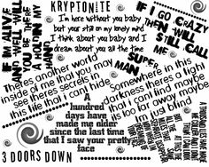 3 Doors Down--My Favorites Are All On Here