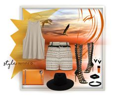 """in my element"" by jennross76 ❤ liked on Polyvore featuring Paul Andrew, River Island, Jil Sander, Marni, Miss Selfridge, rag & bone, contestentry, laceupsandals and PVStyleInsiderContest"