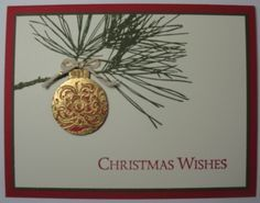 ornamental pine stampin up - Google Search