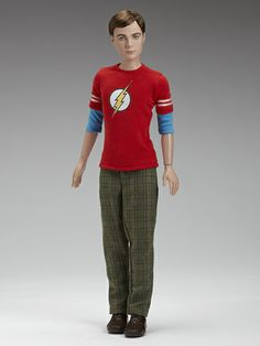 The Big Bang Theory Sheldon Cooper Tonner Doll Best Action Figures, Toys, Bobble Heads Store from Entertainment Earth Kingston, Green Plaid Pants, Barbie Celebrity, The Bigbang Theory, John Wright, Jim Parsons, Best Husband, Barbie World, Collector Dolls